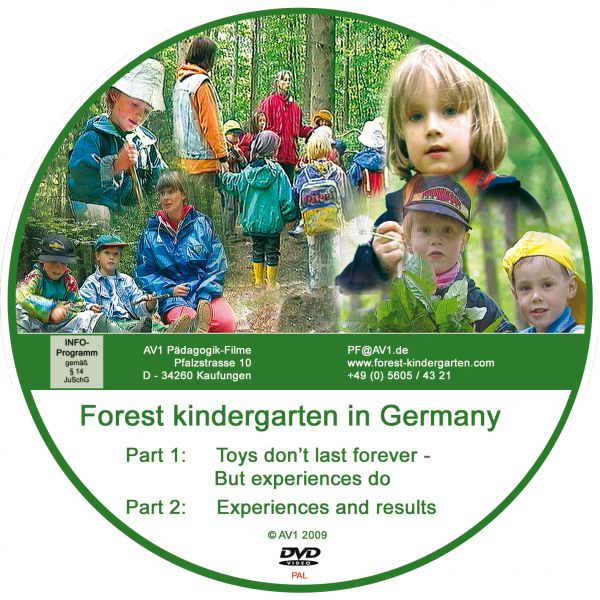 "Forest Kindergarten PAL Part 1 ""Toys don't last forever,..."" + Part 2 ""Experiences and results"""