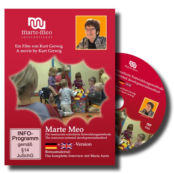 """Marte Meo"" (GER+ENG) NTSC: Maria Aarts's resource-oriented development method (NL)"