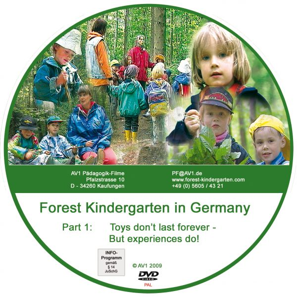 Forest Kindergarten Part 1 PAL: Toys don't last forever- but experiences do!